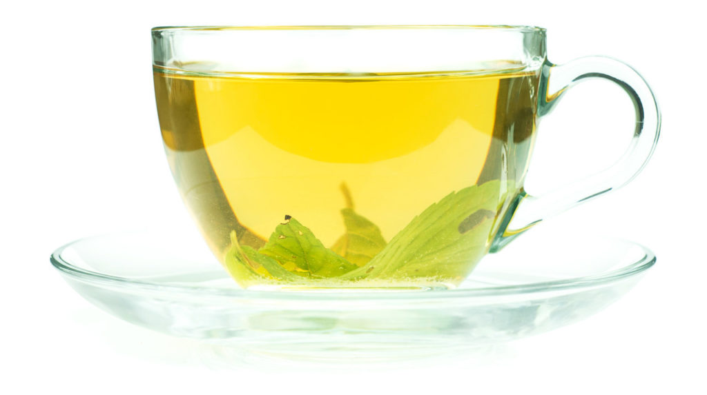 naturalne spalacze tłuszczu - zielona herbata
